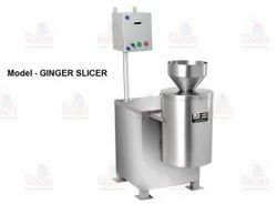 Stainless Steel Ginger Cutting Machine/Ginger slicing Machine, Weight: 120 Kg