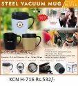Steel Vaccum Mug