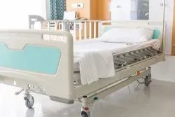 White Hospital Bed Sheets
