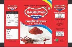 Red Chilli Powder, 10g, Packet