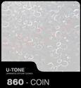 860-Coin PVC Laminated Gypsum Ceiling Tiles