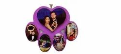 Wooden Purple Sublimation Photo Frame, For Decoration