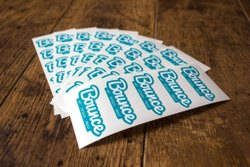 Vinyl Adhesive Sticker, Packaging Type: Bucket