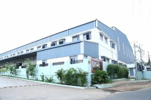 Industrial Projects Steel Frame Structures Storage Building Contractors, in Coimbatore