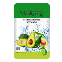 MASKING BEAUTY - AVOCADO FACIAL SHEET MASK