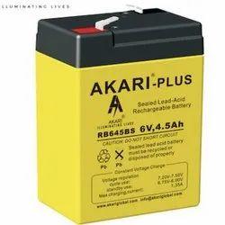 Akari Plus Vrla 6v 4.5ah Battery