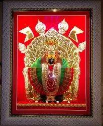 Golden Regular Mahalaxmi Kolhapur Frame