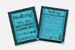 70% IPA Wipes - Masking Alcohol Based Multipurpose Cleaning Wipes
