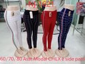 Rishabh Collecton Leggins Nj-1621 Ladies Hosiery Check Pant, Size: Free Size, Waist Size: 32.0