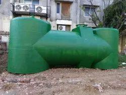Semi Automatic Underground Sewage Treatment Plant