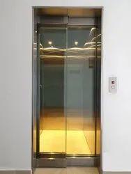SS Glass Passenger Elevator