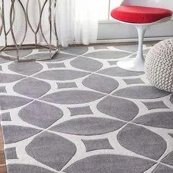 For Home Modern handtufted Woolen Carpet, Size: 2x6 Feet