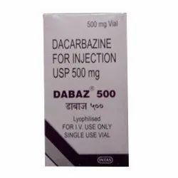 Dabaz Dacarbazine for Injection USP, Intas Pharmaceuticals, 1 Vial