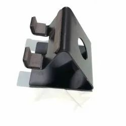 Metallic Black Mobile Accessory Display Stand, Size: Large
