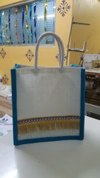 Fancy Designer Jute Bag