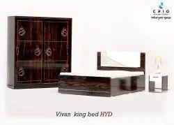 CRIO Partical Board Sliding Wardrobe Set, For Bedroom