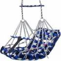 Cotton Baby Swing Jhula Chair Jhula For 1-3 Years Old Babies With Safety Belt