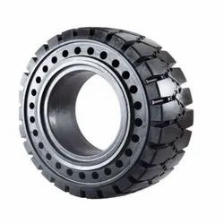 400 X 9.75 Solid Aperture Forklift Tire