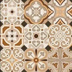 Multicolor 3029 Digital Art Design Porcelain Tiles, Thickness: 8 - 10 mm, Size: Large