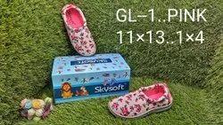 Daily wear Girls Fancy Shoes, Size: 11*13,1*4