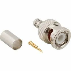 Brass BNC Connector, Cable Mount