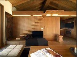 Wooden Interior Design Service, Work Provided: Wood Work & Furniture