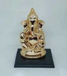 Gold Plated Ganeshji