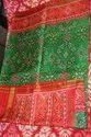 Handloom Pure Silk Festive Wear Semi Patola Saree, Hand Wash, 5.5m (with Blouse Piece)