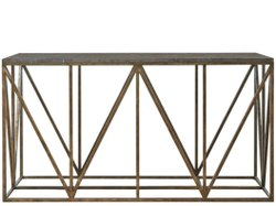 Black Polished Rectangle Metal Table, For Restaurant