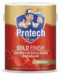 High Sheen Red Gold Finish Exterior Premium