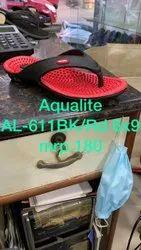 Red Aqualite Al-611 Ladies Eva Accupuncture Slipper