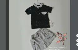 Knitted Cotton Formal Wear MEM0215 Kids T-Shirt