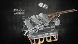1 Week Conceptualization 3D Mechanical Animation Services
