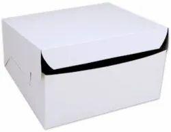White Cake Paper Box