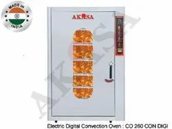 Akasa Indian Electric Convection Oven 260 Ltr. Digital - 5 Shelf