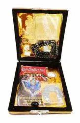 Box Golden Shani Kripa Yantra, Size: 4*4