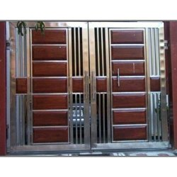 Hinged Stainless Steel Safety Gate, For Residential