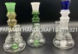 COLOR TUBE COPRIM GLASS WATER SMOKING PIPES