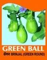 Natural Green Round Brinjal Seed, Packaging Size: 50 Gm