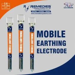 MOBILE EARTH ELECTRODE