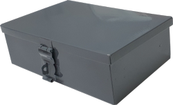 Stainless Steel Grey Multi-purpose Box, Stores Cash, Jewellery Used As Tool Box (7