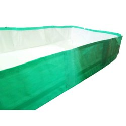 Rectangular Green HDPE Vermi Bed