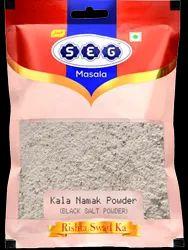 SEG Masala Kala Namak Powder, Packaging Type: HDPE Packet, Packaging Size: 100 g