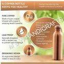 Diamond Copper Bottle