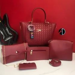 Multicolor Leather Dior Hand Bag