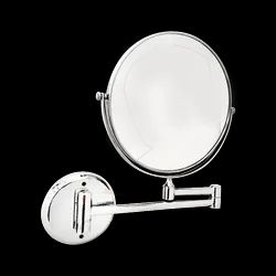 Glass Round Magnifying Shaving Mirror, For Residential, 34866