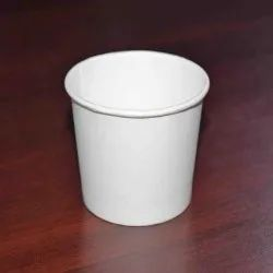 Milky White 200 Ml Paper Cup