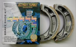 Eltron Turbo Hero Honda CD 100 Bike Two Wheeler Brake Shoe