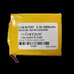 Lithium Polymer Battery 3.7v 2000mah