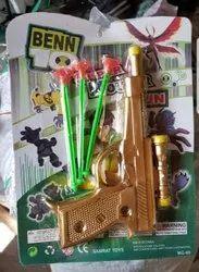 Plastic BENN10 MG66 Kids Toy Gun, Child Age Group: 2-5 Year